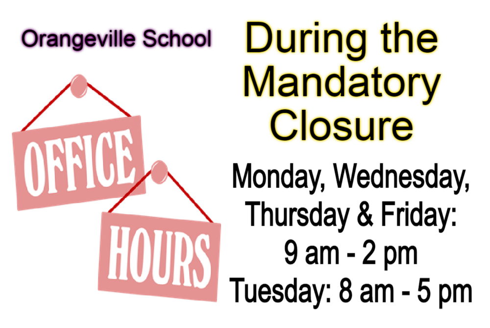 Office Hours during closure