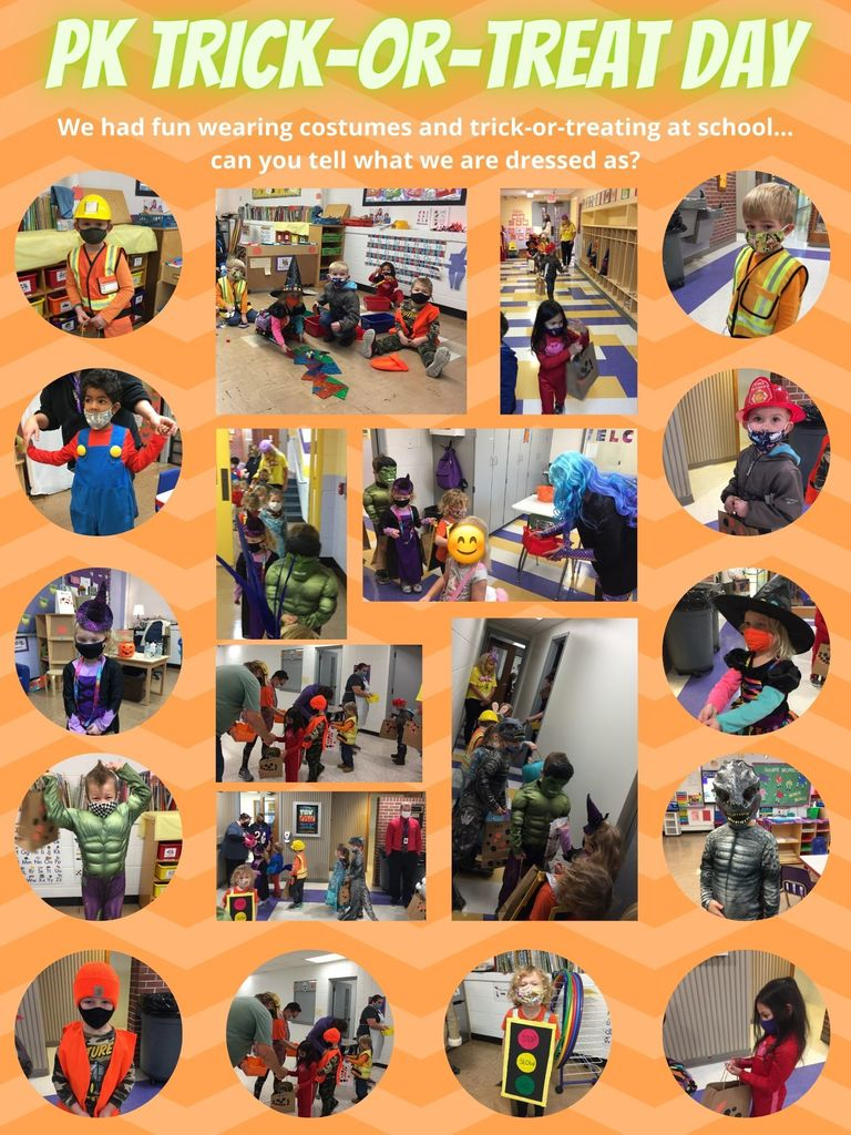 PK Trick or Treat Day