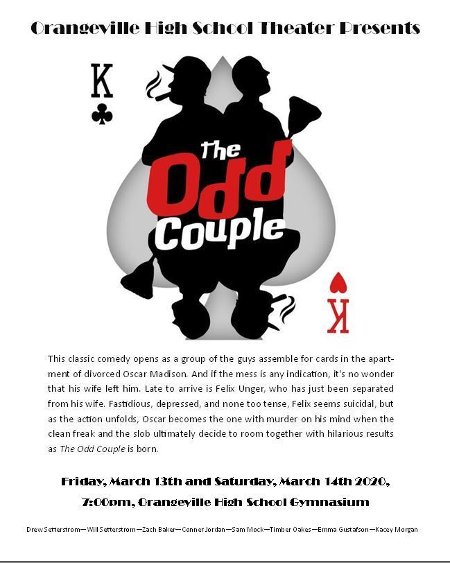 Odd Couple poster