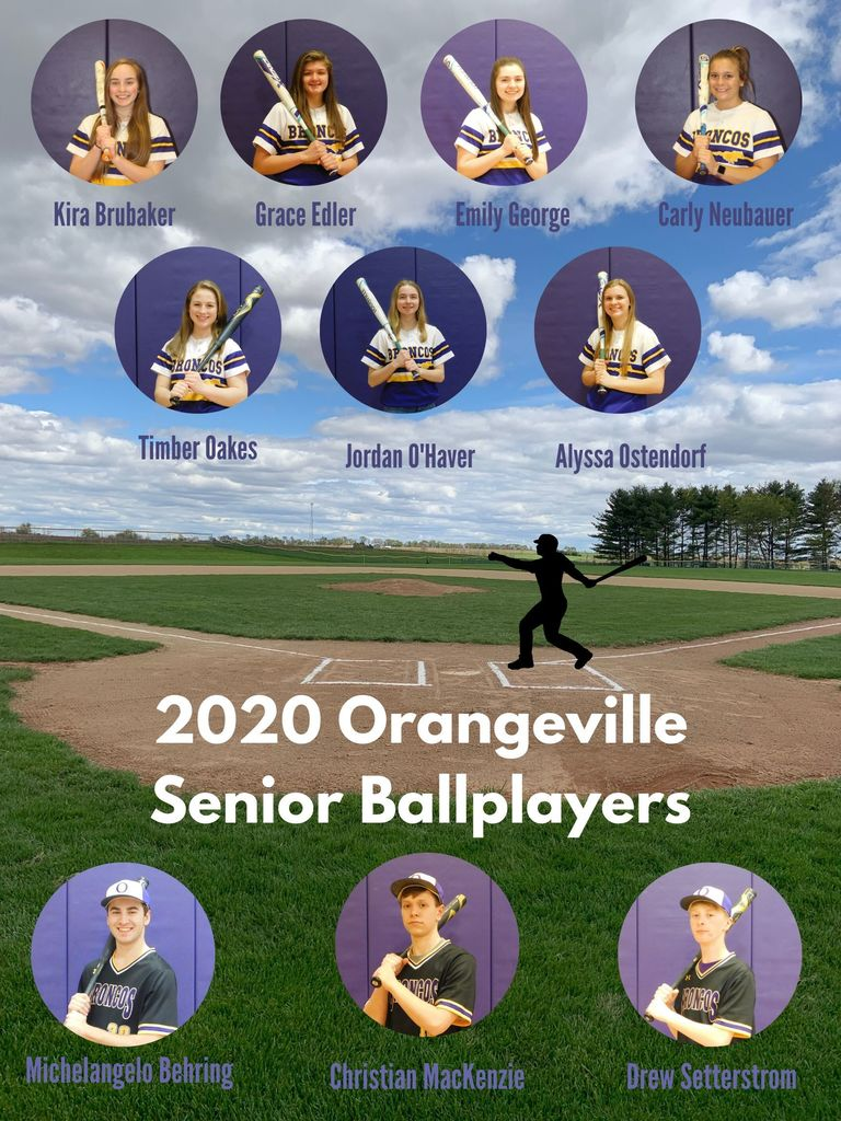 OHS senior ballplayers